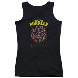 Jla - Juniors Mister Miracle Tank Top