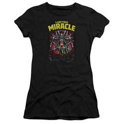 Jla - Juniors Mister Miracle Premium Bella T-Shirt