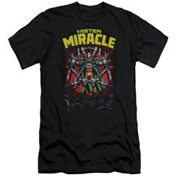 Jla - Mens Mister Miracle Slim Fit T-Shirt