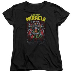 Jla - Womens Mister Miracle T-Shirt