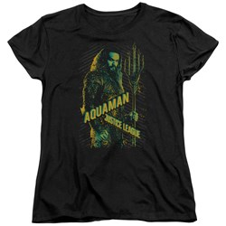 Justice League Movie - Womens Aquaman T-Shirt