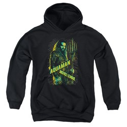 Justice League Movie - Youth Aquaman Pullover Hoodie