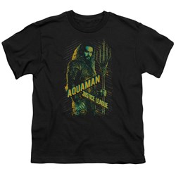 Justice League Movie - Youth Aquaman T-Shirt