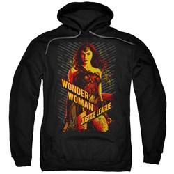 Justice League Movie - Mens Wonder Woman Pullover Hoodie