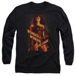 Justice League Movie - Mens Wonder Woman Long Sleeve T-Shirt