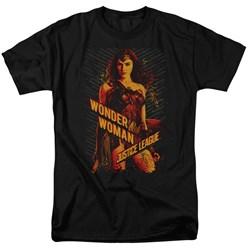 Justice League Movie - Mens Wonder Woman T-Shirt