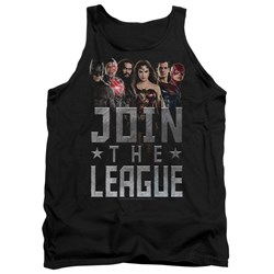 Justice League Movie - Mens Join The League Tank Top