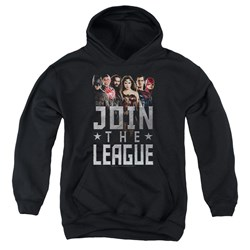 Justice League Movie - Youth Join The League Pullover Hoodie