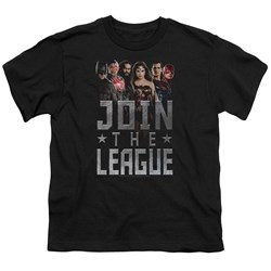 Justice League Movie - Youth Join The League T-Shirt