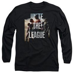 Justice League Movie - Mens Dawn Long Sleeve T-Shirt