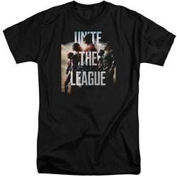 Justice League Movie - Mens Dawn Tall T-Shirt