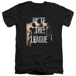 Justice League Movie - Mens Dawn V-Neck T-Shirt