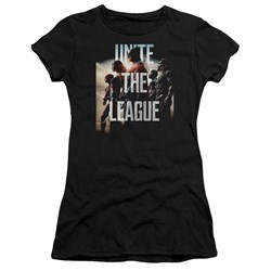 Justice League Movie - Juniors Dawn T-Shirt