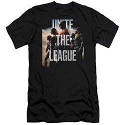 Justice League Movie - Mens Dawn Premium Slim Fit T-Shirt