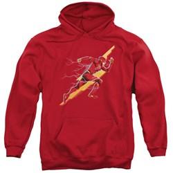 Justice League Movie - Mens Flash Forward Pullover Hoodie