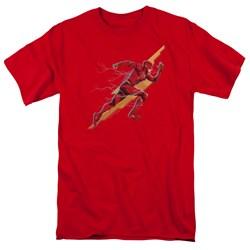 Justice League Movie - Mens Flash Forward T-Shirt