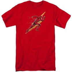 Justice League Movie - Mens Flash Forward Tall T-Shirt