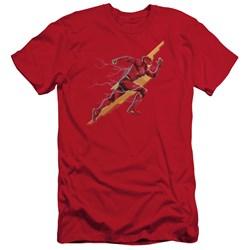 Justice League Movie - Mens Flash Forward Slim Fit T-Shirt