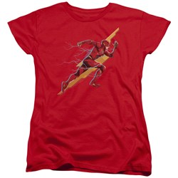 Justice League Movie - Womens Flash Forward T-Shirt