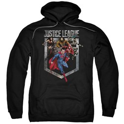 Justice League Movie - Mens Charge Pullover Hoodie