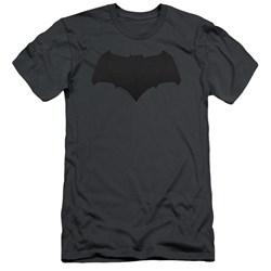 Justice League Movie - Mens Batman Logo Slim Fit T-Shirt