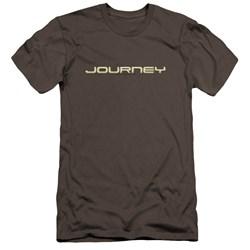 Journey - Mens Logo Premium Slim Fit T-Shirt