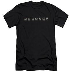 Journey - Mens Repeat Logo Premium Slim Fit T-Shirt