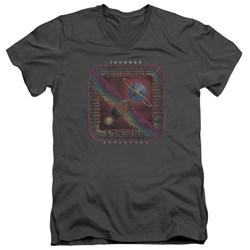 Journey - Mens Departure V-Neck T-Shirt