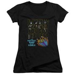 Kiss - Juniors The Best V-Neck T-Shirt