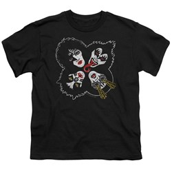Kiss - Youth Rock And Roll Heads T-Shirt