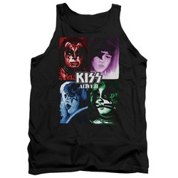 Kiss - Mens Alive Ii Cover Tank Top