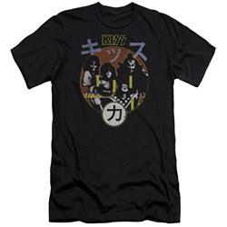 Kiss - Mens Hotter Cover Premium Slim Fit T-Shirt