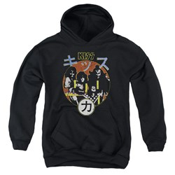 Kiss - Youth Hotter Cover Pullover Hoodie