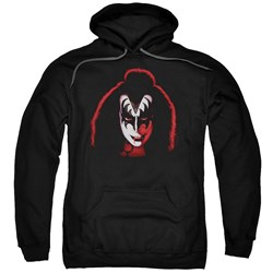 Kiss - Mens Gene Simmons Cover Pullover Hoodie