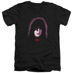 Kiss - Mens Paul Stanley Cover V-Neck T-Shirt