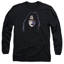 Kiss - Mens Ace Frehley Cover Long Sleeve T-Shirt