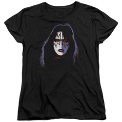 Kiss - Womens Ace Frehley Cover T-Shirt