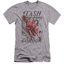 Flash Gordon - Mens To The Rescue Premium Slim Fit T-Shirt