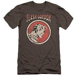 Flash Gordon - Mens Flash Circle Premium Slim Fit T-Shirt