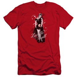 Lucille Ball - Mens Signature Look Premium Slim Fit T-Shirt