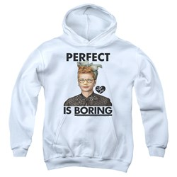 I Love Lucy - Youth Perfect Is Boring Pullover Hoodie