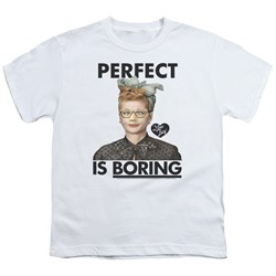 I Love Lucy - Youth Perfect Is Boring T-Shirt