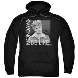 I Love Lucy - Mens Mondays Be Like Pullover Hoodie