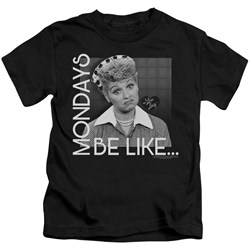 I Love Lucy - Youth Mondays Be Like T-Shirt