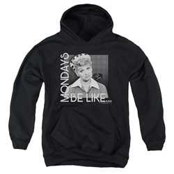 I Love Lucy - Youth Mondays Be Like Pullover Hoodie
