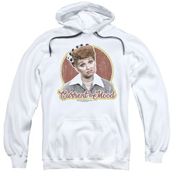 I Love Lucy - Mens Current Mood Pullover Hoodie