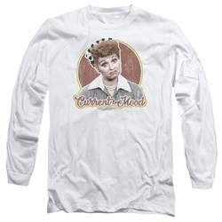 I Love Lucy - Mens Current Mood Long Sleeve T-Shirt