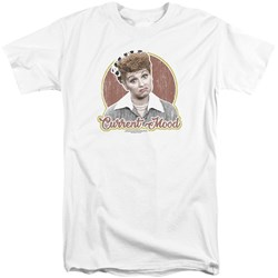 I Love Lucy - Mens Current Mood Tall T-Shirt