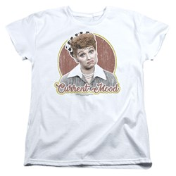 I Love Lucy - Womens Current Mood T-Shirt