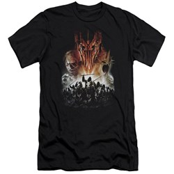 Lor - Mens Evil Rising Premium Slim Fit T-Shirt